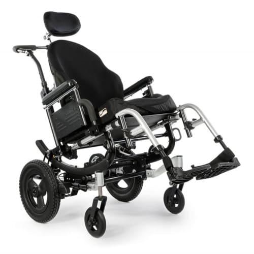 Carrozzina per disabili basculante