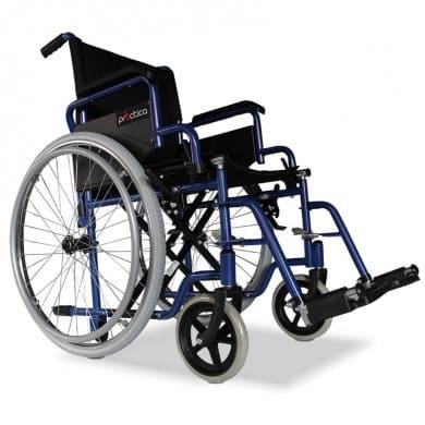 Carrozzina per disabili standard ad autospinta