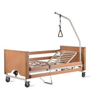 Letto ortopedico in legno con sponde per disabili e anziani