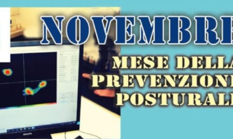Novembre: mese della prevenzione posturale